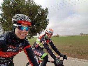 Moisés Manzanares y Yago Sardina, de Bicicletas Manzanares Tienda de Bicicletas en Albacete